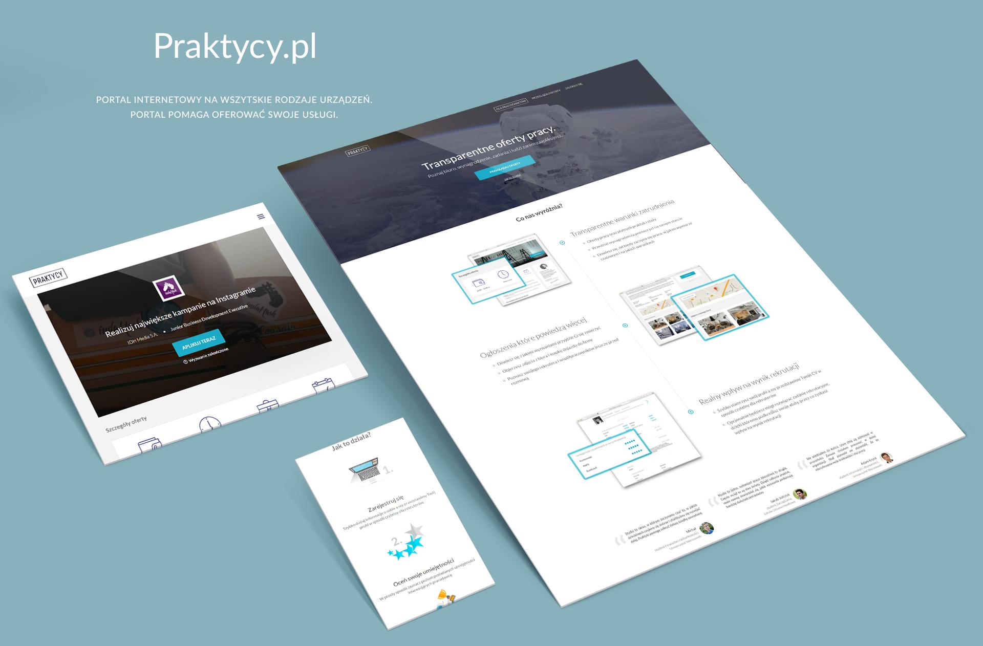 Strona www startupu praktycy.pl
