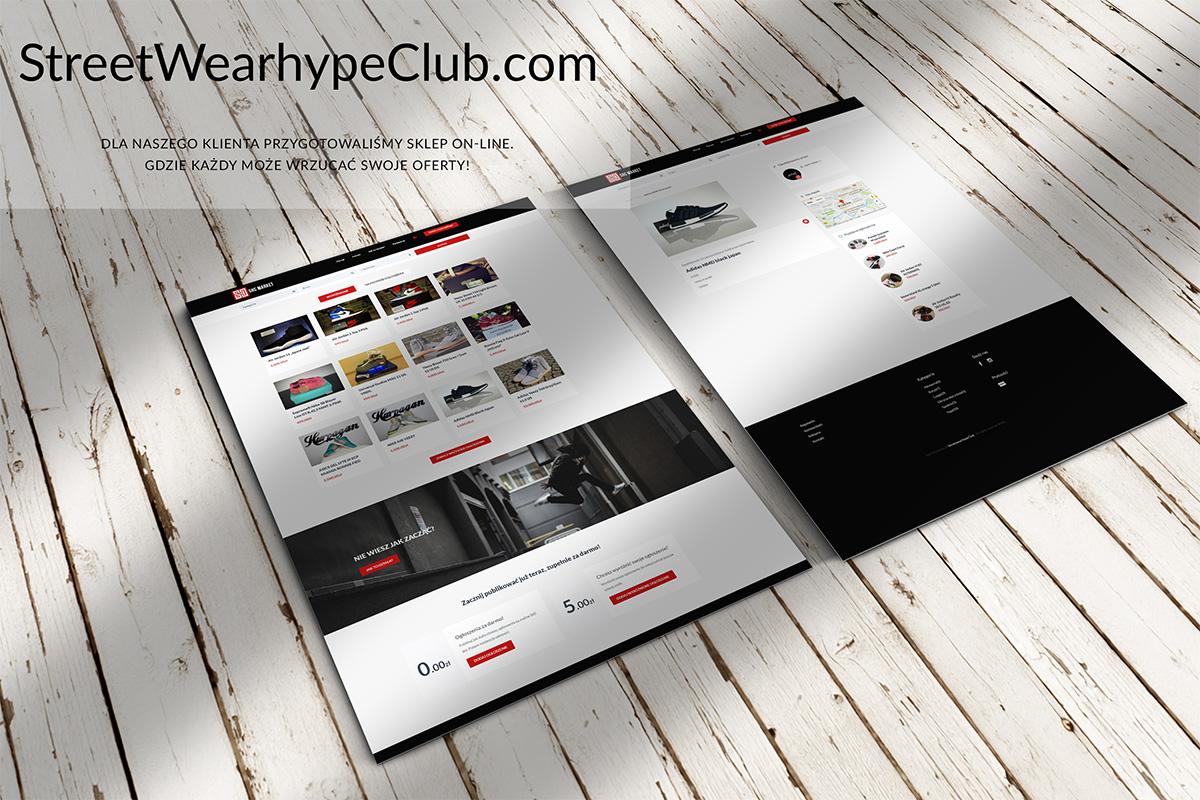 e-commerce StreetWearhypeClub.com