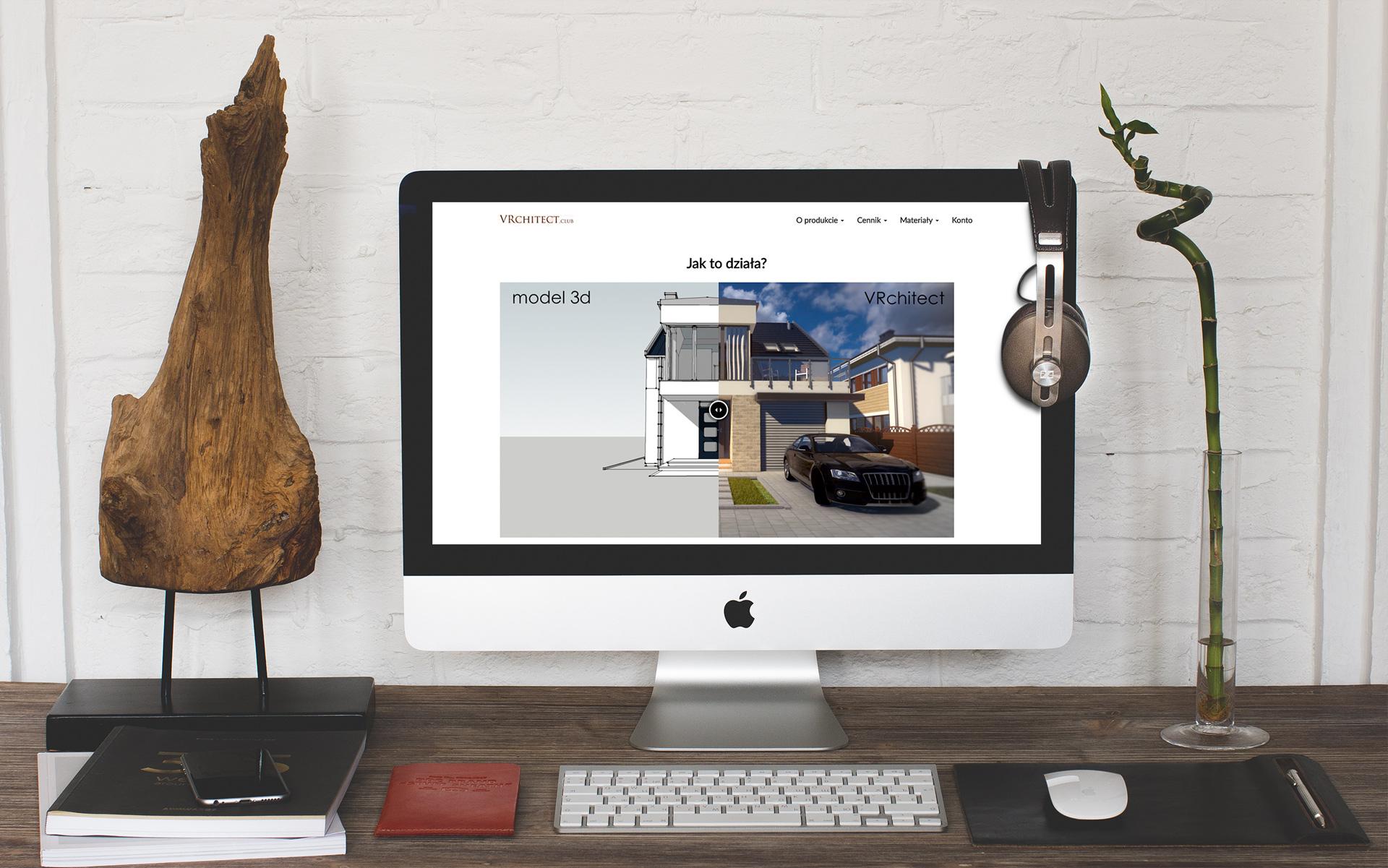 Strona www projektu vRchitect.club